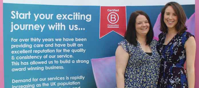 Jennie Bardrick & Lisa Cable, Radfield Home Care Havering & Brentwood