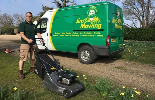 Jim's Mowing Page