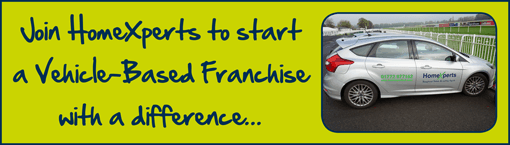 Join HomeXperts and become part of the new kind of vehicle-based franchise today!