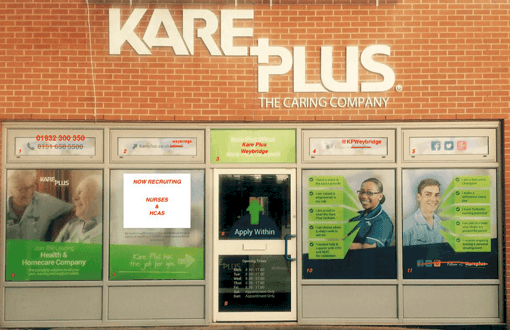 Kare	Plus: The	truly	multi-income healthcare franchise