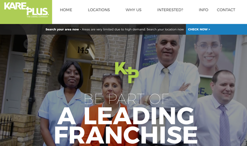 Kare Plus Franchising launches new website