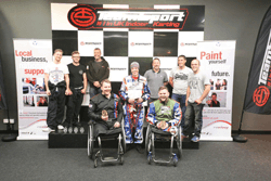 Kart Force injured troops win at Annual Revive! Karting Championship