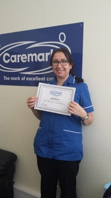 'Kind and understanding' care worker wins Caremark's national monthly award