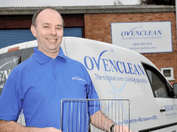 'PRETIREMENT' – FRANCHISING AT 50+ Paul cooks up a plan with Ovenclean
