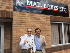 Mail Boxes Etc. Earn Global Accolade