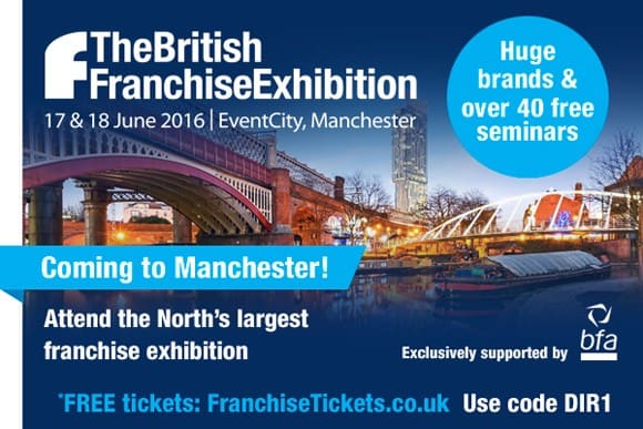 Meet Auditel at the British Franchise Exhibition in EventCity, Manchester, 17 & 18 June 2016