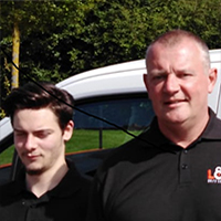 Mike & James Booth, Lockfit Nottingham
