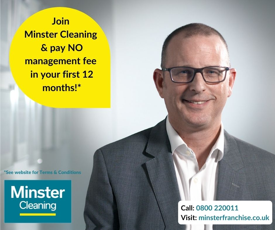 Minster Cleaning launches attractive new growth scheme!