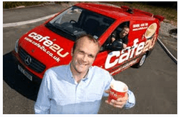 Mobile coffee franchise leads on quality coffee service before the high-street brands