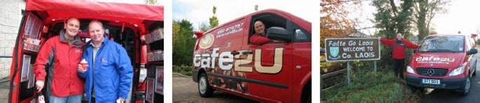 New Cafe2U franchise partner 'cranes' his neck to continue expansion in Ireland