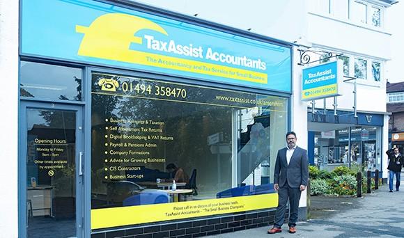 New TaxAssist Accountants shop opens in Amersham