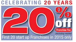 Oscar comes bearing gifts as it celebrates 20 years of franchising