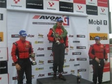 Owner of FASTSIGNS Huddersfield close to victory at motor racing championships