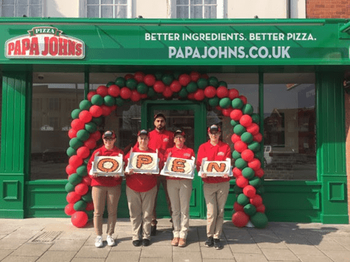 Papa John's Franchisee Keeps Future in Mind with Great Yarmouth Opening