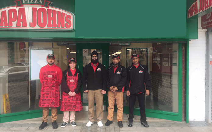 Papa John's Franchisees Taste Success in London