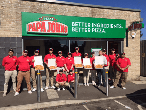 Papa John's to Cater for Caerphilly