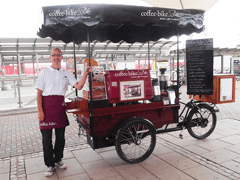 Part-Time Coffee-Biker Now Expanding to Full-Time