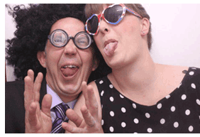 Pete & Celaine Cave, Giggle Booth Warwickshire & West Midlands