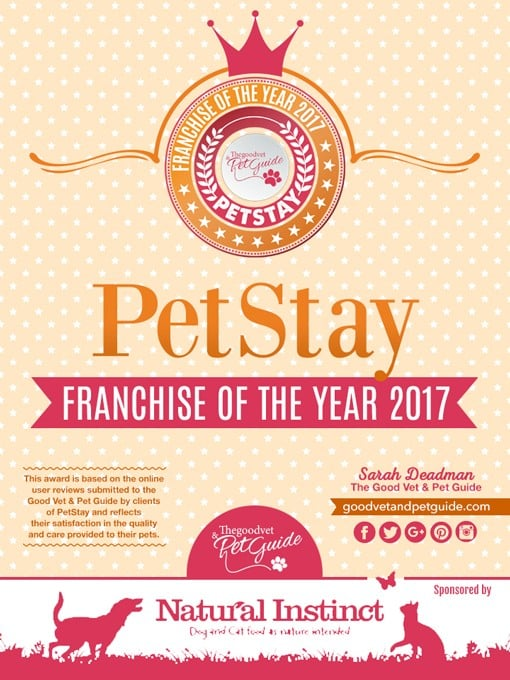 PetStay have won several industry awards