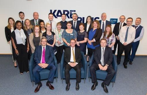 PRESS RELEASE: Investors in People CEO visit Kare Plus
