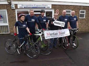Recognition Express Essex Supports Charity Bike Ride