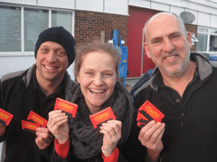 Recognition Express Mid Surrey Helps New Community Garage Break The Ice