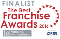 Right at Home is celebrating being confirmed as a finalist in the 2016 Best Franchise Awards