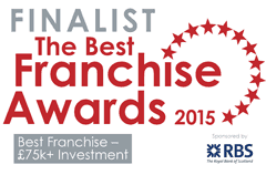 Right at Home shortlisted for the 2015 Best Franchise Awards.