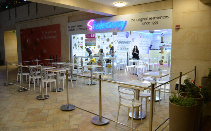Shakeaway Opens at Taj Mall, Amman, Jordan!