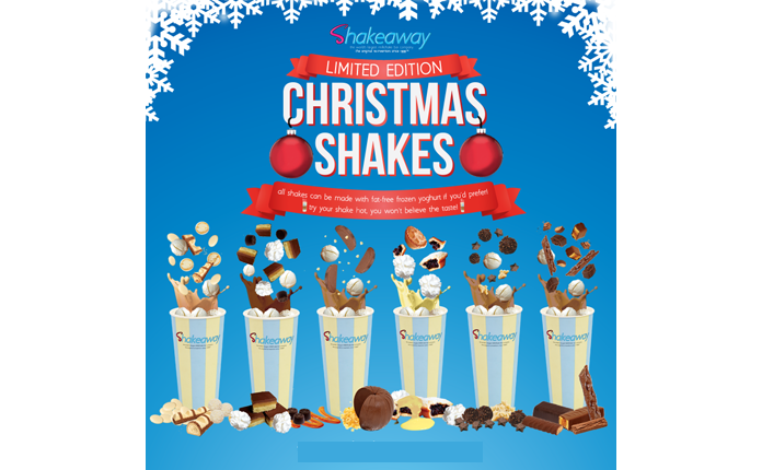 Shakeaway's Limited-Edition Christmas Menu