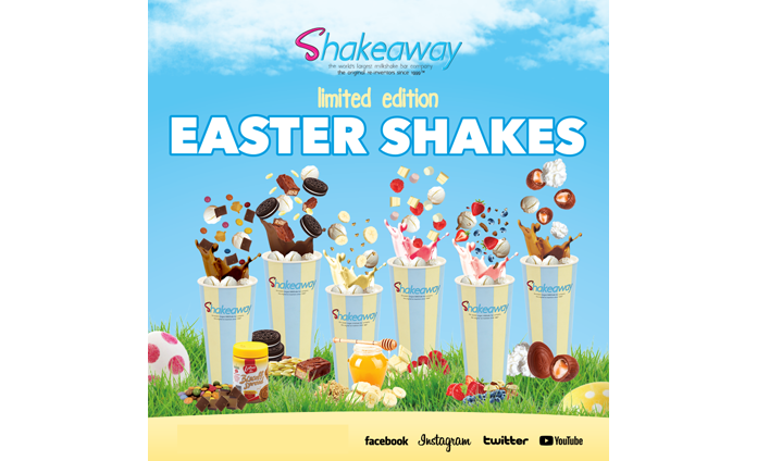 Shakeaway's Limited-Edition Easter Shakes Menu