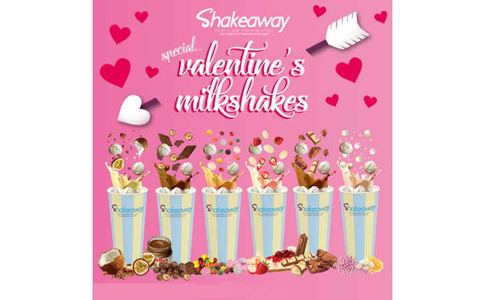 Shakeaway's Limited-Edition Valentine's Menu is Now Available