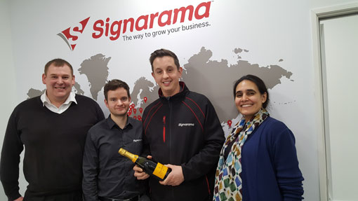 Signarama Celebrates Record Performance