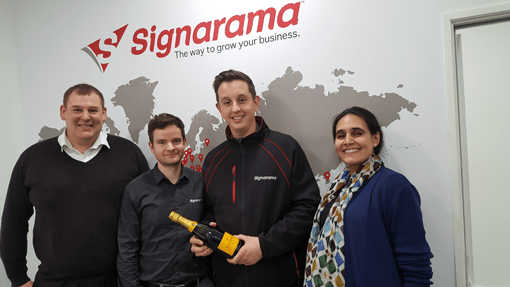 Signarama Named a Top UK Franchise!