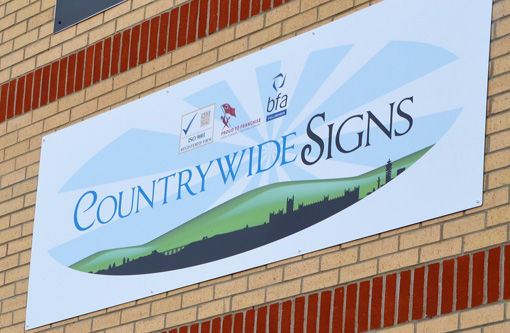 Sponsorship boards help drive record months at Countrywide Signs