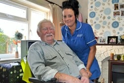 Stroke survivor credits recovery to his carer
