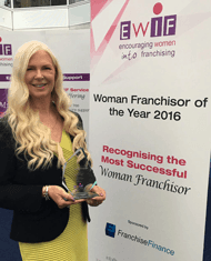 Sussanne Chambers Wins Woman Franchisor of the Year