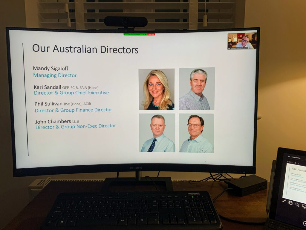 TaxAssist Accountants runs four online Discovery Sessions in four countries in the same month