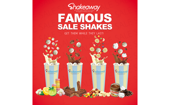 The Famous Shakeaway Sale 2017-2018