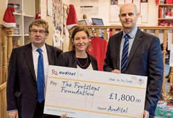 The Footsteps Centre given a helping hand by Auditel