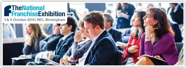 The National Franchise Exhibition | NEC Birmingham | 3rd and 4th October 2014