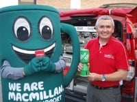 The World's Largest Mobile Coffee Franchise Supports the World's Biggest Coffee Morning