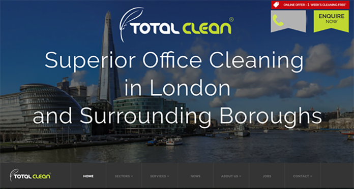 Total Clean Launches New Website
