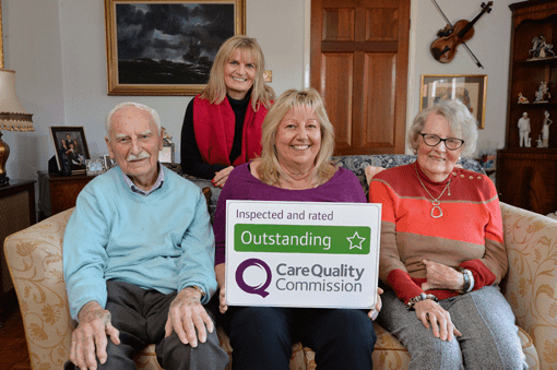 Tremendous 10th CQC outstanding for Home Instead Senior Care