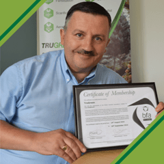 TruGreen awarded full bfa membership