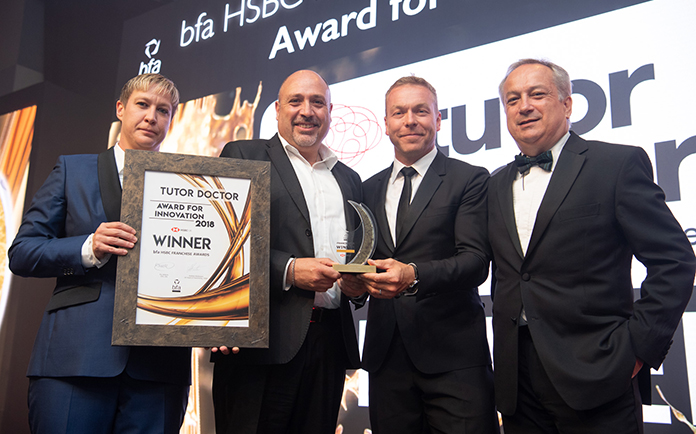 Tutor Doctor Crowned most Innovative Franchisor in the UK