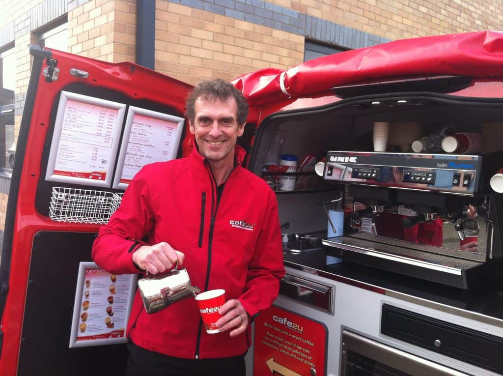 Two new franchise partners drive to their future with Cafe2U