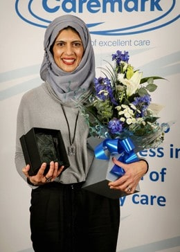 Wilmslow home care franchise takes Caremark's top award for North West