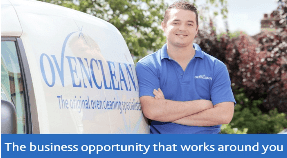 YOUNG FRANCHISEES – Ovenclean hits the hot spot for Robbie