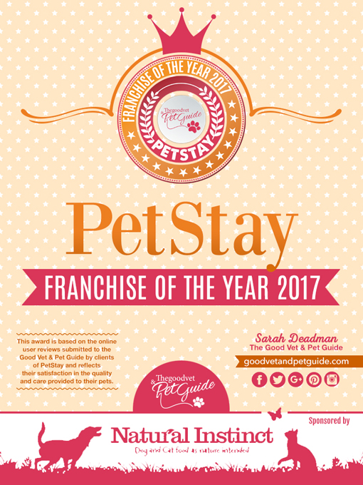 PetStay have won Franchise of the Year 2017